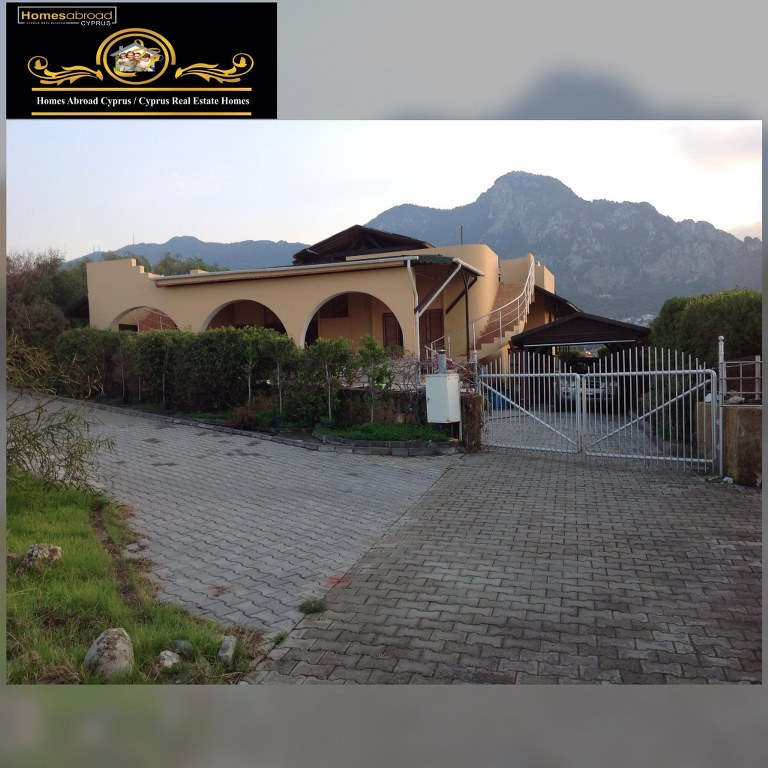 Seafront 3 Bedroom Bungalow With Beautiful Sea And Mountain Views Location Karsiyaka Girne (For Sale)