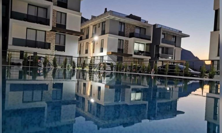 Nice 1 Bedroom Garden Apartment For Sale Location Lapta Girne North Cyprus KKTC