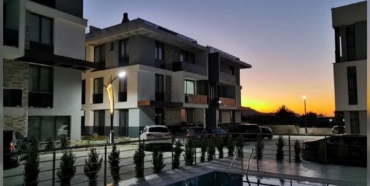 Nice 2 Bedroom Terrace And Garden Apartments For Sale Location Lapta Girne.