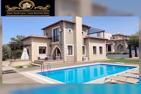 Elegant 3 Bedroom Villa For Rent Location Esentepe Girne North Cyprus KKTC TRNC