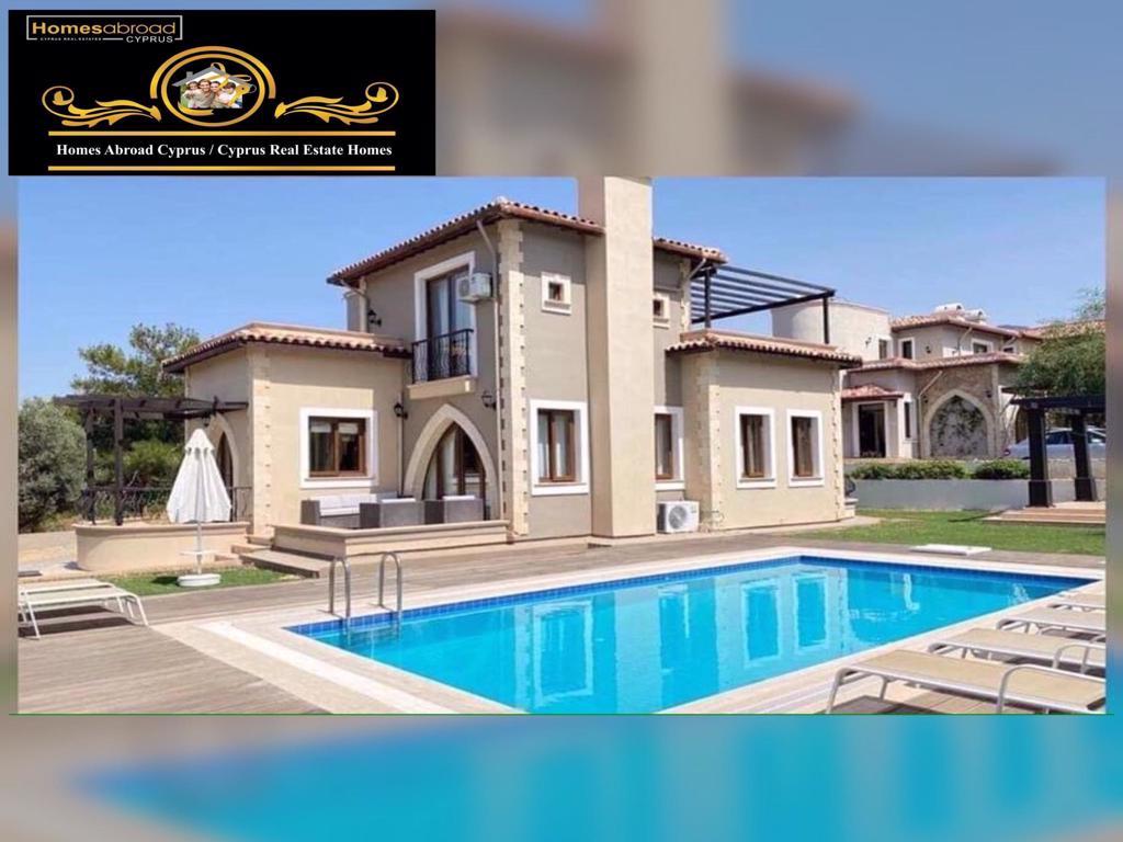 Elegant 3 Bedroom Villa For Rent Location Esentepe Girne