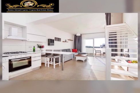 Elegant 1 Bedroom Apartment For Rent Location Esentepe Girne North Cyprus KKTC TRNC