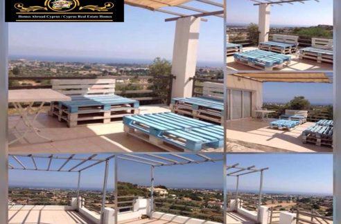 Nice 2 Bedroom Twin Villa For Rent Location Karsiyaka Girne (Beautiful Sea And Mountain Panoramic) North Cyprus KKTC TRNC