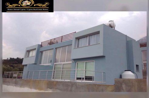 1 Bedroom Semi Detached Villa For Rent Location Karsiyaka Girne (Beautiful Sea And Mountain Panoramic) North Cyprus KKTC TRNC