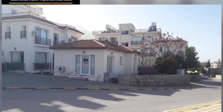 Great Business Opportunity Suitable Office,Beauty Parlour or Residence 2 Bedroom Corner Villa For Rent Location Just on main road next to bread factory (Ekmek Firin) Lapta Girne North Cyprus KKTC TRNC