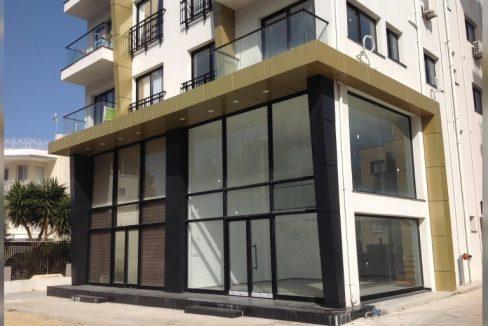 Brand New (Sendeli) Shop For Rent Location Commercially Zoned Near to Ogretmenevleri Center Girne North Cyprus KKTC TRNC
