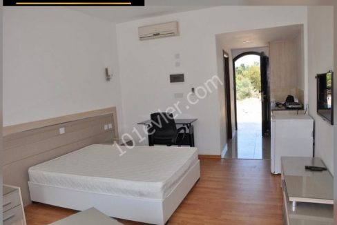Studio Bungalow For Rent Location Near to GAU Karaoglanoglu Girne. North Cyprus KKTC TRNC