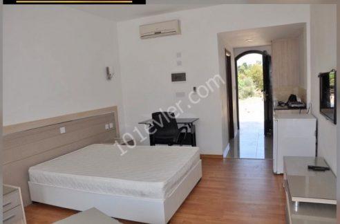 Studio Bungalow For Rent Location Near to GAU Karaoglanoglu Girne. North Cyprus KKTC TRNC