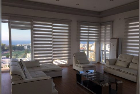 Luxurious 1 Bedroom Penthous For rent Location Near Nusmar Market Girne (Beautifull Sea And Mountail Views) North Cyprus KKTC TRNC