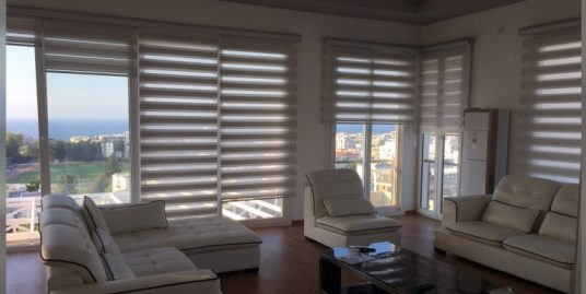 Luxurious 1 Bedroom Penthous For rent Location Near Nusmar Market Girne (Beautifull Sea And Mountail Views)
