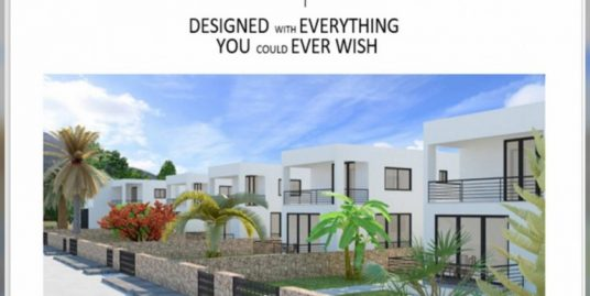 Adorable 3 Bedroom Villa For Sale Location Edremit Girne (with breathtaking of five fingers mountains and the Mediterranean sea views)