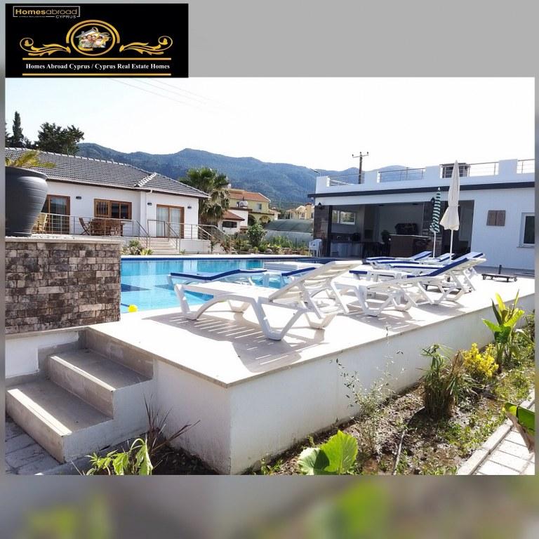 Looking For A Dream House? Elegant 5 Bedroom Villa For Rent Location Near Riverside Hotel Alsancak Girne (live in luxury/style)