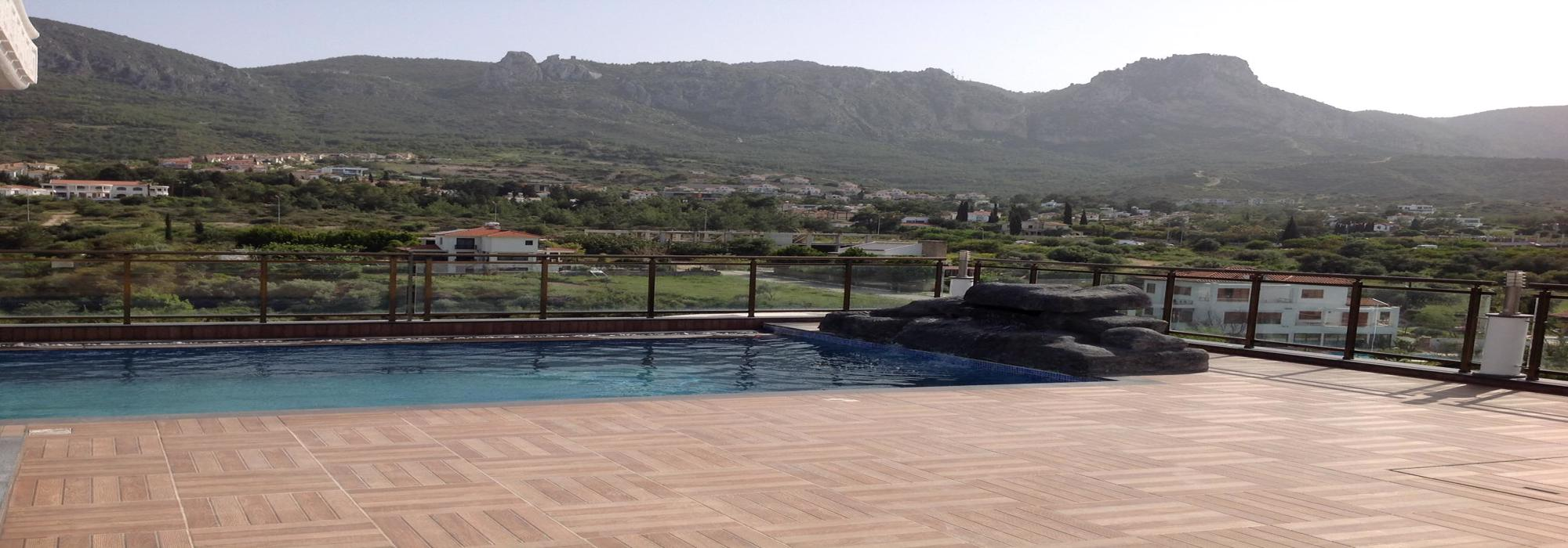 Live in Luxury Life Style Cozy 4 Bedroom Penthouse With Private Swimming Pool With Beautiful Panoramic Sea And Mountains Views Location Near Nusmar Market Girne (For Rent)