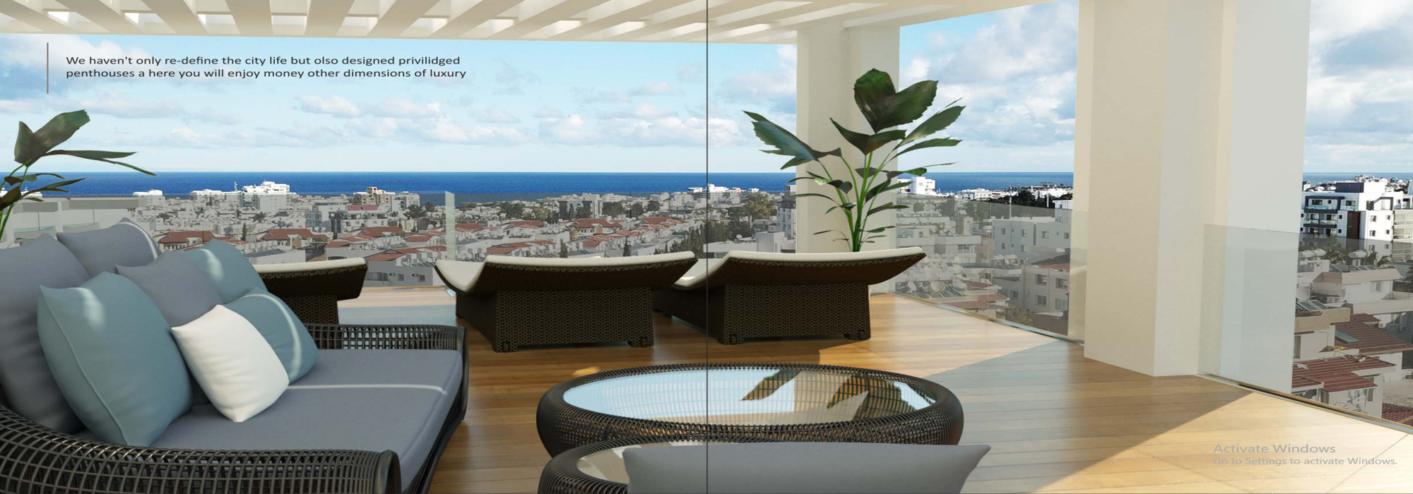 Adorable 1,2 And 3 Bedroom Apartments And Penthouse For Rent Location Near Nusmar Market Girne