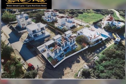 Nice 2 Bedroom Sea Front Twin Villa For Sale Location Karsiyaka Girne North Cyprus KKTC TRNC