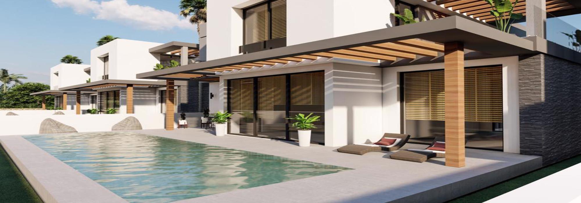 Nice 4 Bedroom Villas For Sale Location Near Seaside Karsiyaka Girne(Sea And Mountain Views)