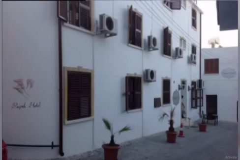 Great Business Opportunity Hotel For Sale with Best Location Touristic Harbor Girne North Cyprus KKTC TRNC