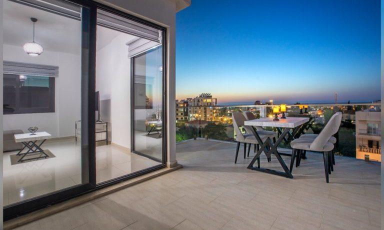 Adorable 2 Bedroom Penthouse For Rent Location Girne North Cyprus KKTC TRNC
