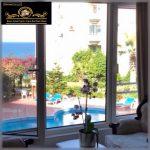 Nice 3 Bedroom Sea Front Apartment For Sale Location Kasgar Girne North Cyprus KKTC TRNC